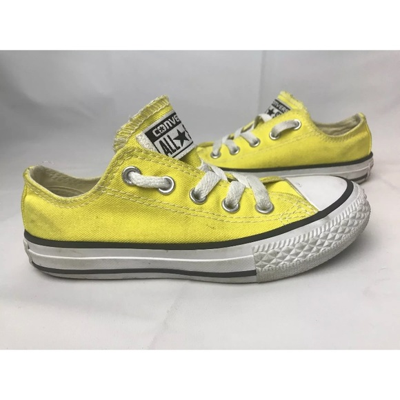 edb321a9cd1f Converse Other - Toddler 11 Converse Low Top Yellow Chuck Taylor